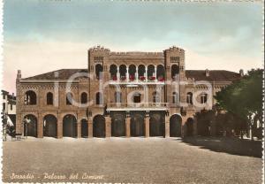 1959 SEZZADIO (AL) Palazzo del Comune *Cartolina FG VG