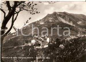 1952 RONCOLA SAN BERNARDO (BG) Vista dal Monte LINZONE *Cartolina FG VG