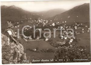 1952 SELVINO (BG) Piccolo scalatore contempla la valle *Cartolina FG VG