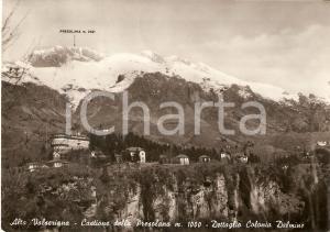 1951 CASTIONE DELLA PRESOLANA Colonia Dalmine - ALTA VALSERIANA *Cartolina FG VG