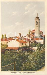1950 ca ZINASCO (PV) Panorama della frazione SAIRANO *Cartolina FP NV