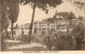 1940 ca MONTECATINI CASTELLO (PT) Veduta del Carmine *Cartolina FP NV