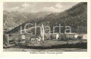 1935 ca FABBRICA CURONE (AL) Panorama parziale del paese *Cartolina FP NV