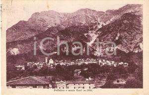 1927 FRISANCO (PN) Frazione POFFABRO e Monte Raut *Cartolina FP VG