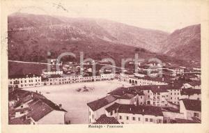 1927 MANIAGO (PN) Panorama del paese *Cartolina FP VG