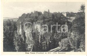 1930 ca COREDO (TN) Frazione TAVON VIlla Canestrini *Cartolina FP NV