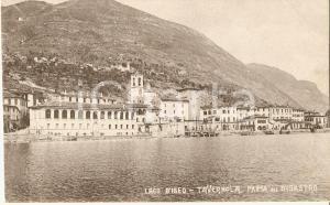 1920 ca TAVERNOLA BERGAMASCA Il paese prima della frana *Cartolina FP NV