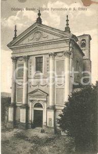 1932 ODALENGO GRANDE (AL) Chiesa parrocchiale di SAN VITTORE *Cartolina FP VG
