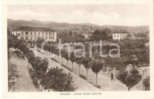 1940 OVADA (AL) Corso della Libertà *Cartolina FP NV