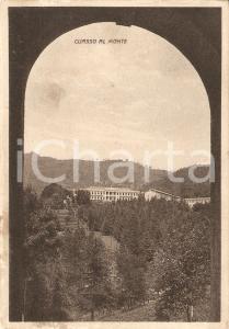 1942 CUASSO AL MONTE (VA) Sanatorio EMANUELE FILIBERTO DI SAVOIA Cartolina FG VG