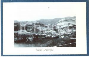 1925 ca VESIME (AT) Panorama del paese *Cartolina FP NV