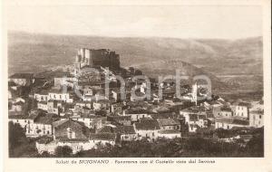 1953 SICIGNANO DEGLI ALBURNI (SA) Castello visto da Monte SERRONE *Cartolina FP
