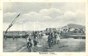 1948 MONDRAGONE (CE) Ragazze in spiaggia *Cartolina FP VG