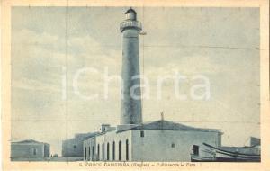 1941 SANTA CROCE CAMERINA (RG) Faro di PUNTASECCA *Cartolina FG NV