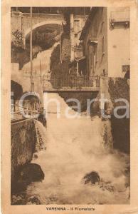 1920 ca VARENNA (LC) Panorama con FIUMELATTE *Cartolina FG NV