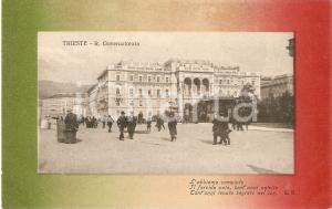 1915 ca TRIESTE Veduta del Regio Governatorato *Cartolina FG NV