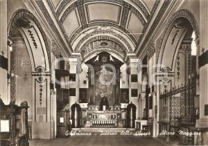 1959 CEFALU' (PA) Santuario GIBILMANNA Altare maggiore *Cartolina FG VG
