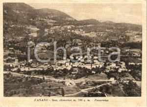 1965 FANANO (MO) Panorama del paese *Cartolina FG VG