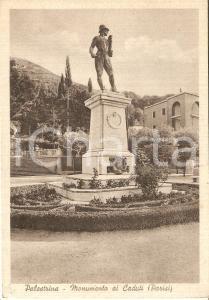 1942 PALESTRINA (RM) Monumento ai Caduti di Vincenzo PARISI *Cartolina FG VG
