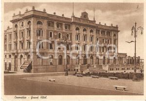1947 CESENATICO (FC) Veduta generale del GRAND HOTEL *Cartolina FG VG