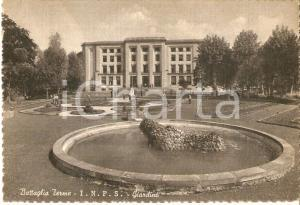 1960 BATTAGLIA TERME (PD) Sede INPS Giardino ANIMATA *Cartolina FG VG