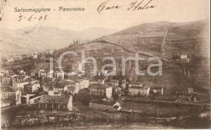 1925 ca SALSOMAGGIORE TERME (PR) Panorama della città *Cartolina FP VG