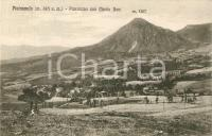 1930 FIRENZUOLA (FI) Frazione PIETRAMALA Panorama con Monte BENI Cartolina FP VG