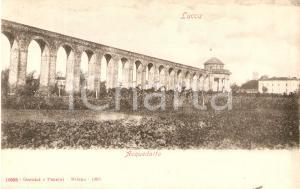 1903 LUCCA Panorama con acquedotto romano *Cartolina FP NV