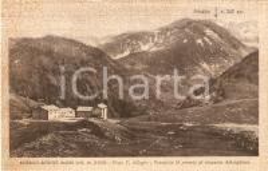 1939 FRABOSA SOPRANA (CN) Albergo Rifugio BALMA e MONGIOIA *Cartolina FP NV