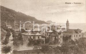 1935 ca ALASSIO (SV) Panorama della città *Cartolina FP NV
