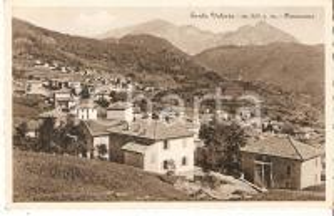 1930 ca SANTA VALERIA (CO) Panorama del paese *Cartolina FP NV