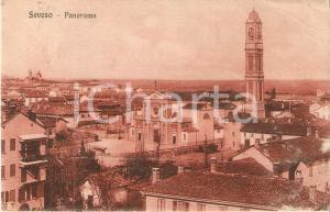 1918 SEVESO (MB) Panorama della città *Cartolina DANNEGGIATA FP VG