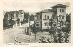 1943 FOLIGNO (PG) Veduta generale di Viale XV Giugno *Cartolina FP NV