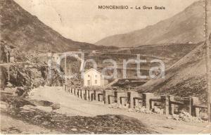 1912 MONCENISIO (TO) Veduta della Gran Scala *Cartolina FP VG