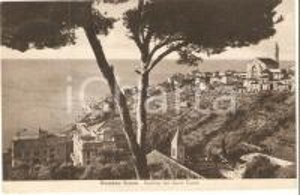 1946 BUSSANA NUOVA (IM) Basilica del Sacro Cuore *Cartolina FP VG