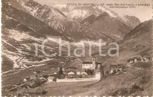1936 FENESTRELLE (TO) Conca di MENTOULLES verso Beo dell'Aquila *Cartolina FP VG