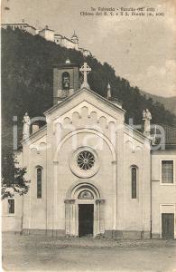 1932 VARALLO Sacro Monte - Timbro Spaccio generi alimentari *Cartolina FP VG
