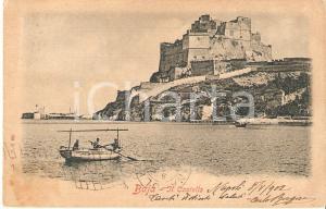 1905 ca BACOLI (NA) Frazione BAIA con Castello Aragonese *Cartolina FP VG