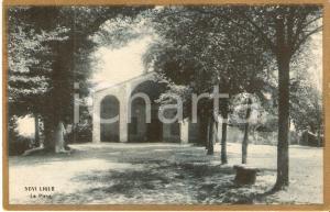 1919 NOVI LIGURE (AL) Veduta della Pieve *Cartolina FP VG