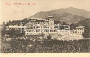 1908 CANZO (CO) VIlla Magni al GRIMELLO *Cartolina FP VG