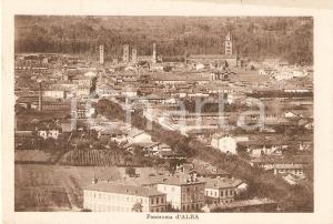 1921 ALBA (CN) Panorama della città *Cartolina FP VG
