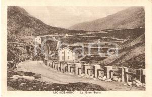 1927 MONCENISIO (TO) Veduta generale della GRANDE SCALA *Cartolina FP VG