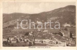 1930 SALICETO (CN) Panorama generale del paese *Cartolina FP VG