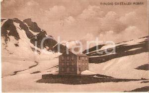 1931 TORINO Veduta del Rifugio GASTALDI *Cartolina FP VG