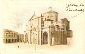 1905 ca VOGHERA (PV) Veduta del Duomo *Cartolina FP VG