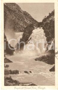 1916 TARCENTO (UD) Cascata del Torrente TORRE *Cartolina FP VG