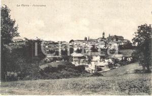 1932 LA MORRA (CN) Panorama del paese *Cartolina FP VG