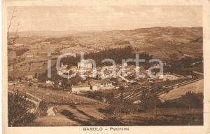 1942 BAROLO (CN) Panorama della città *Cartolina FP VG