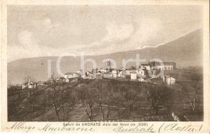 1939 ANDRATE (TO) Il paese visto da nord *Cartolina FP VG