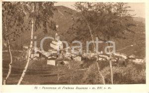 1930 FRABOSA SOPRANA (CN) Panorama del paese *Cartolina FP VG